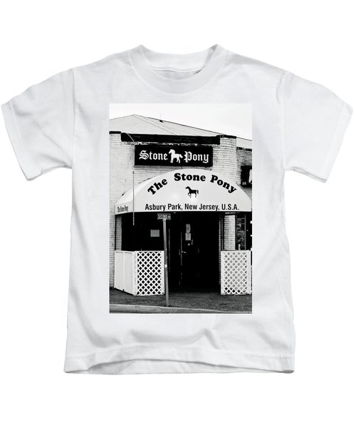 The Stone Pony Asbury Park Nj Kids T-Shirt by Terry DeLuco