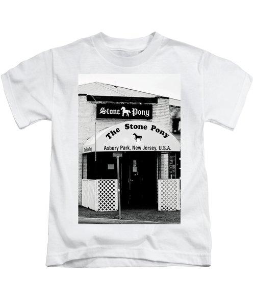 The Stone Pony Asbury Park Nj Kids T-Shirt