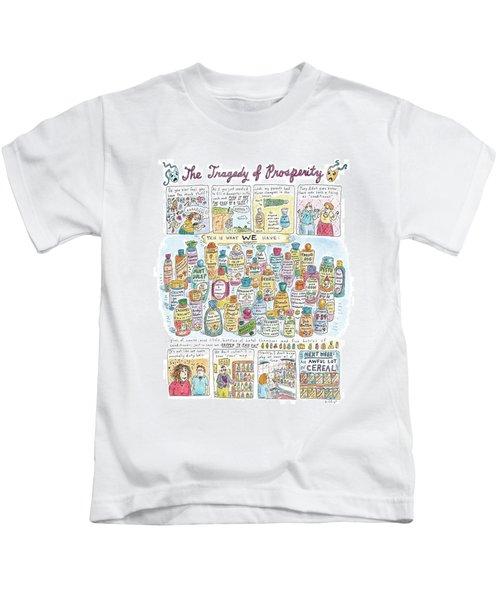 'the Tragedy Of Prosperity' Kids T-Shirt