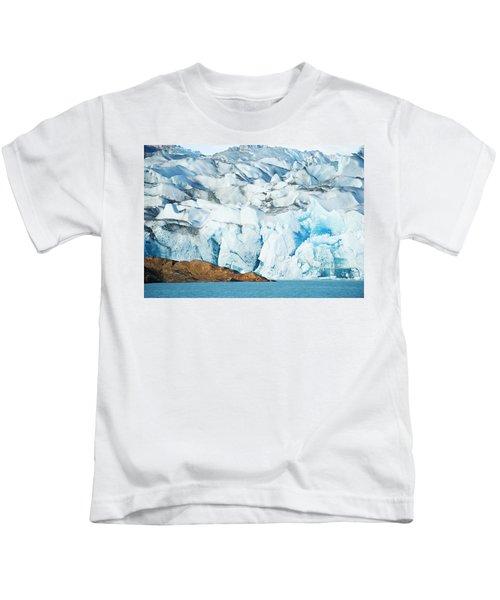 The Viedma Glacier Terminating Kids T-Shirt