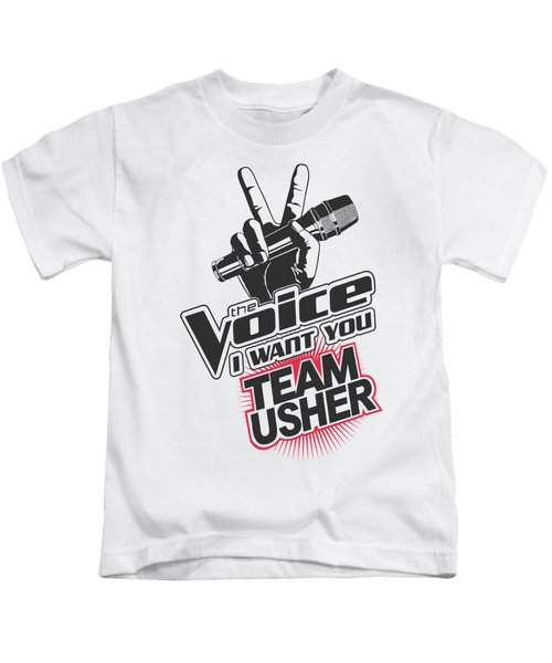 The Voice - Team Usher Kids T-Shirt by Brand A