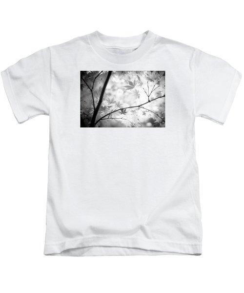 Through The Leaves Kids T-Shirt