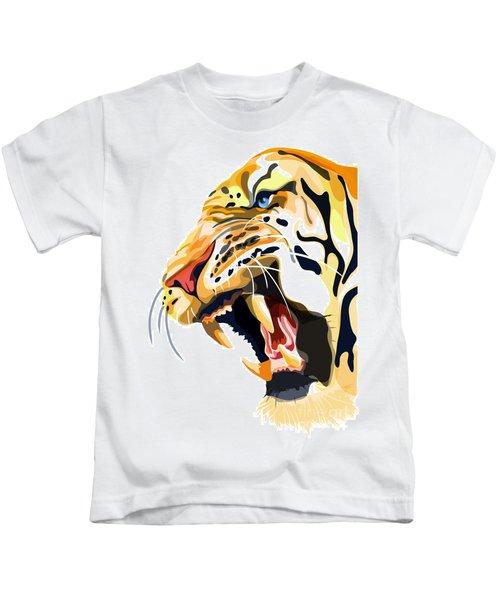 Tiger Roar Kids T-Shirt