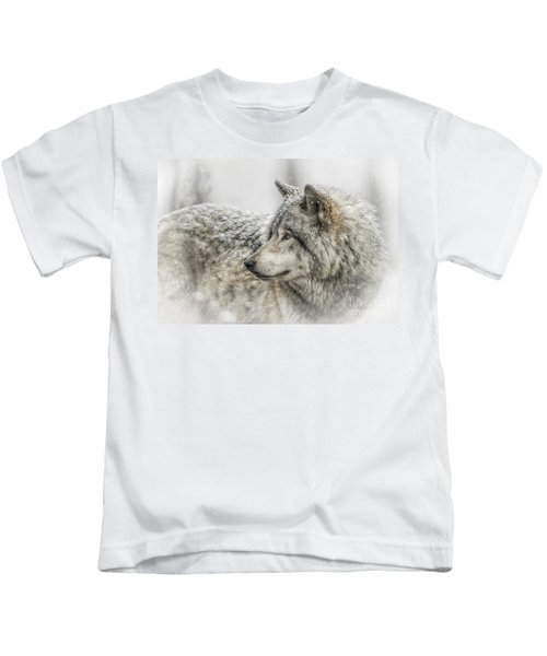 Timber Wolf Pictures 280 Kids T-Shirt