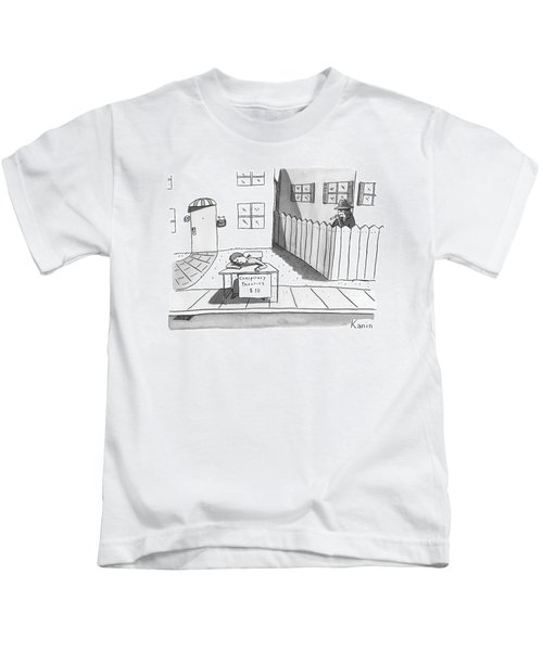 Title: Conspiracy Theories $10 A Boy Is Slumped Kids T-Shirt