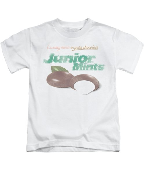 Tootsie Roll - Junior Mints Logo Kids T-Shirt