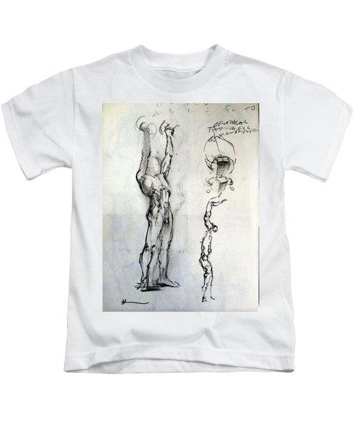 Torso Study Kids T-Shirt
