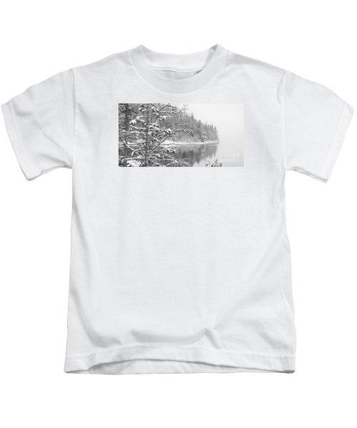 Touch Of Winter Kids T-Shirt