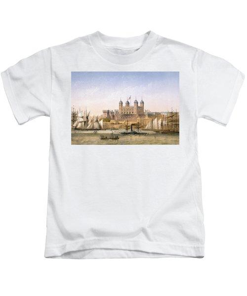 Tower Of London, 1862 Kids T-Shirt