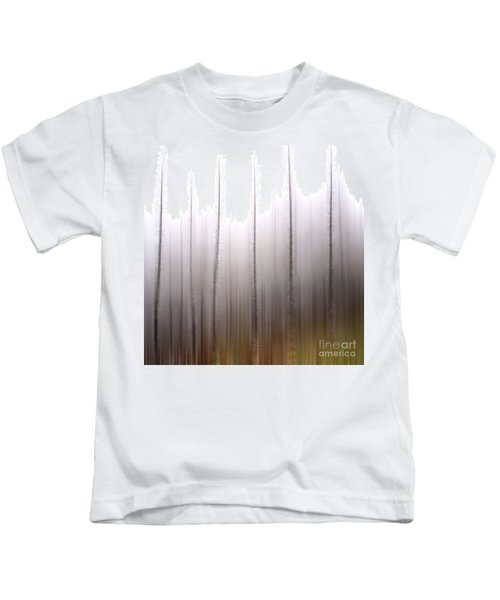 Tree Trunks Kids T-Shirt