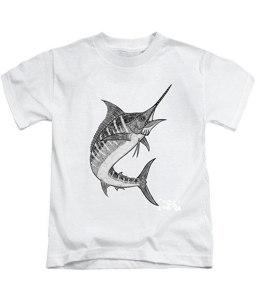 Tribal Marlin IIi Kids T-Shirt