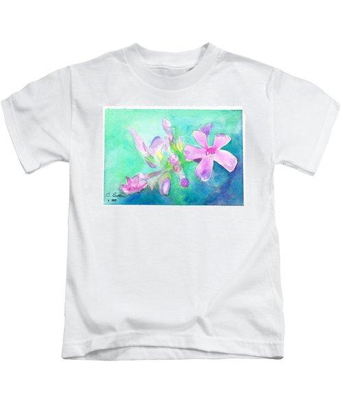 Tropical Flowers Kids T-Shirt