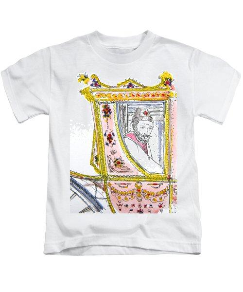 Tsar In Carriage Kids T-Shirt