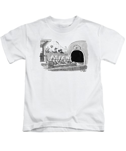 Tunnel Of Safety Kids T-Shirt
