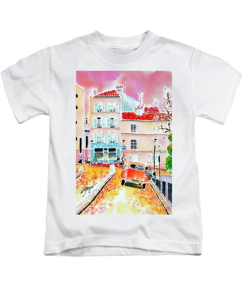 Twilight Montmartre Kids T-Shirt
