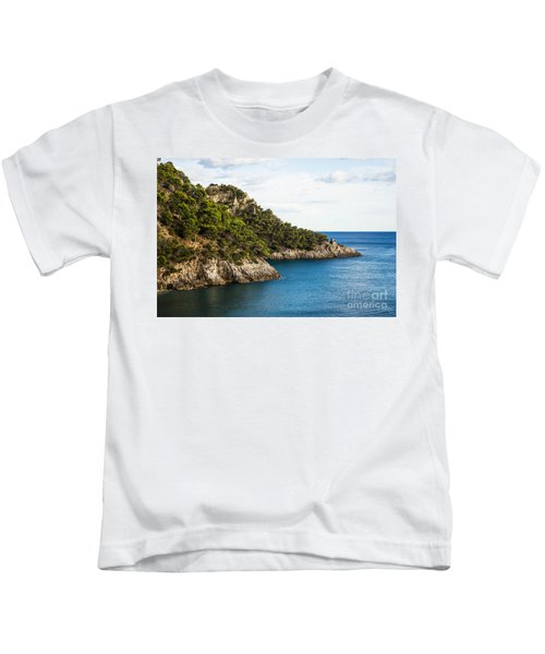 Twin Points Of Italy Kids T-Shirt