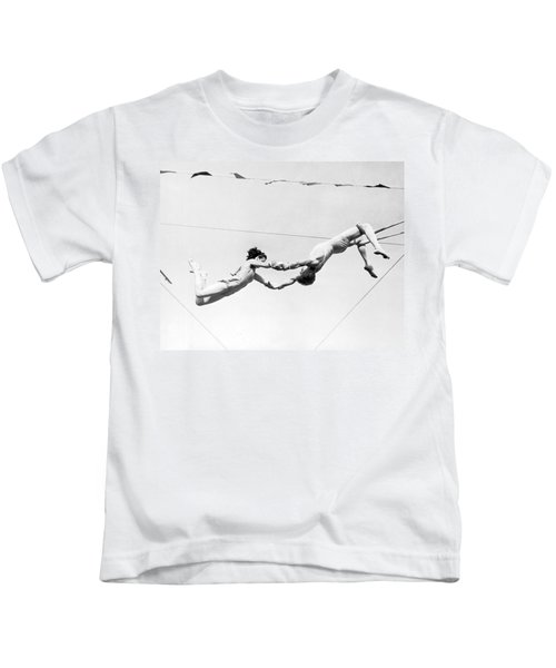 Two Trapeze Artists Kids T-Shirt