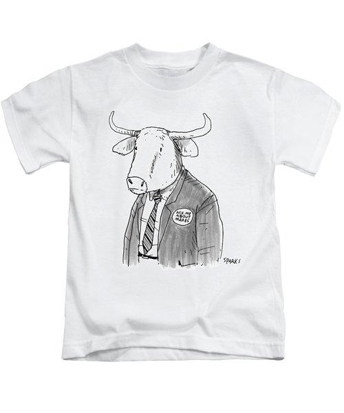 New Yorker October 24th, 2016 Kids T-Shirt
