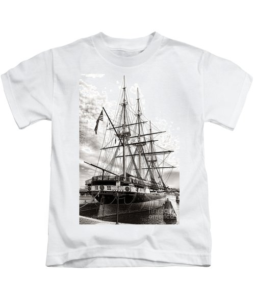 Uss Constellation Kids T-Shirt