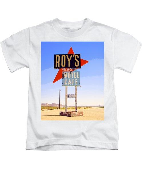 Vacancy Route 66 Kids T-Shirt