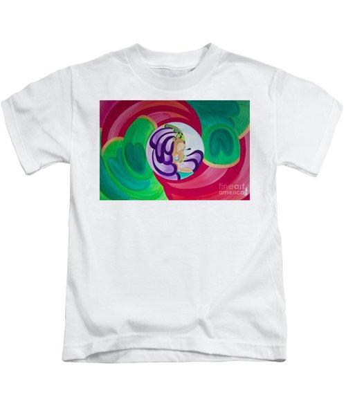 Victoria Peacock Kids T-Shirt