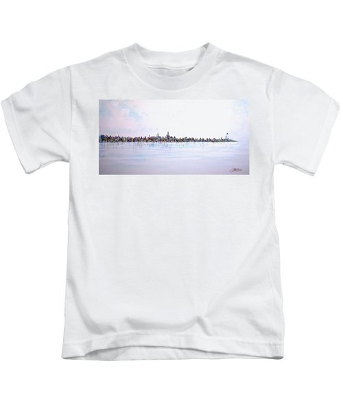 View From The Hudson Kids T-Shirt