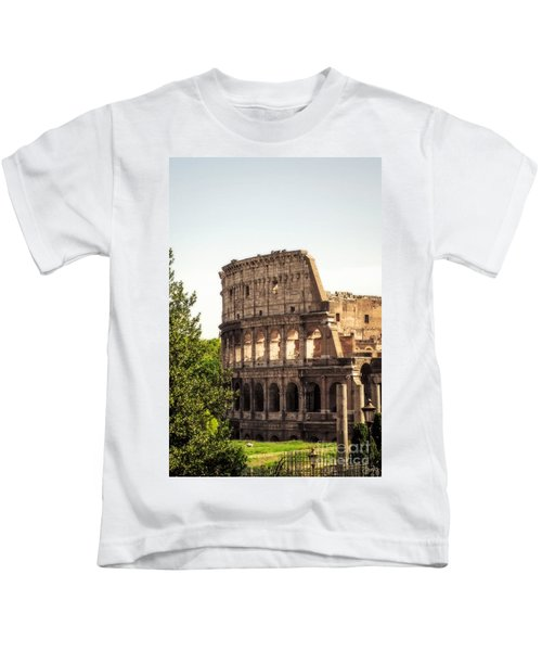 View Of Colosseum Kids T-Shirt