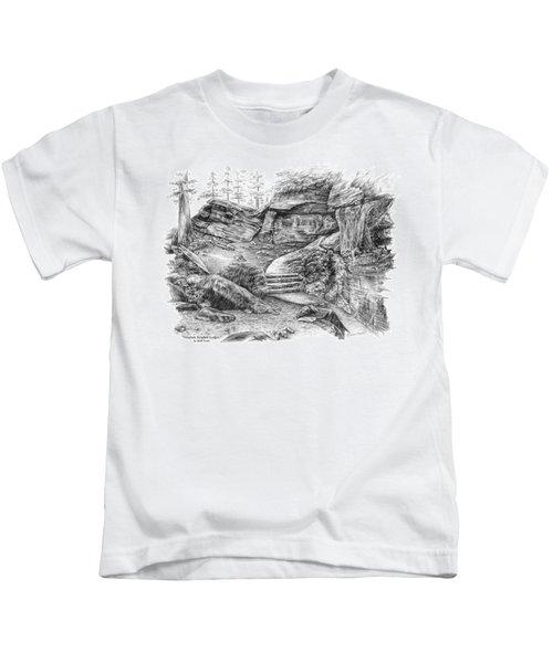 Virginia Kendall Ledges - Cuyahoga Valley National Park Kids T-Shirt