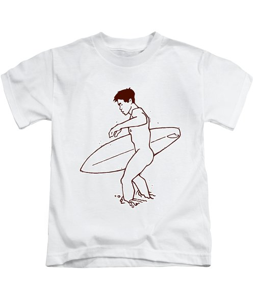 Hawaiian Surfer Kids T Shirts