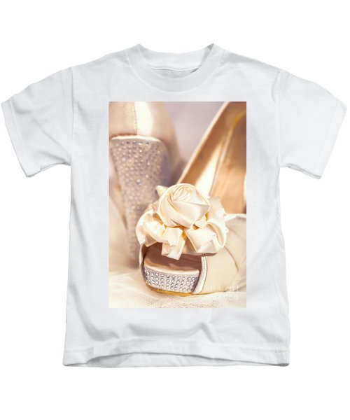Wedding Shoes Kids T-Shirt