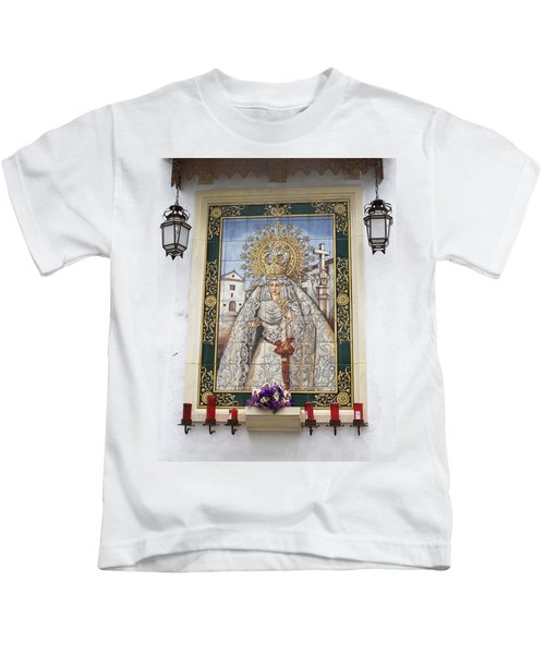 Weeping Virgin Kids T-Shirt