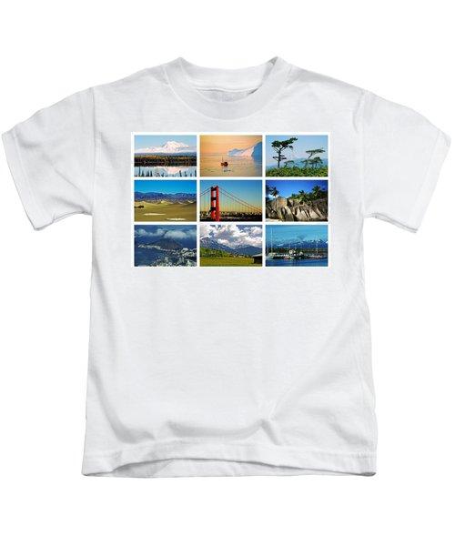 My Wonderful World ... Kids T-Shirt