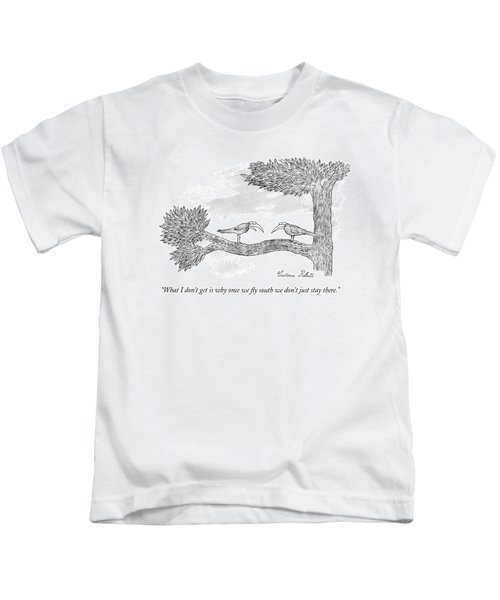 Once We Fly South Kids T-Shirt