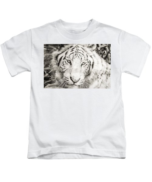 White Tiger Kids T-Shirt