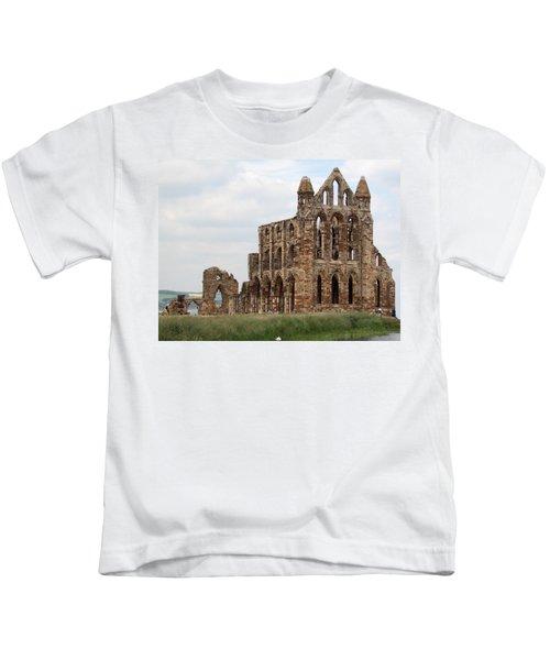 Whitby Abbey Kids T-Shirt