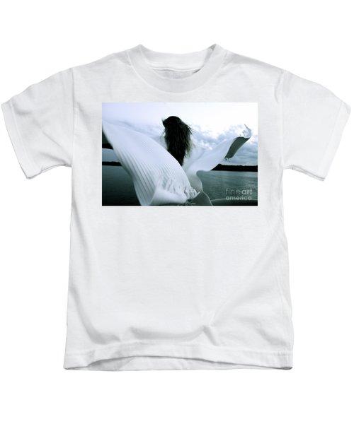 White Angel Kids T-Shirt