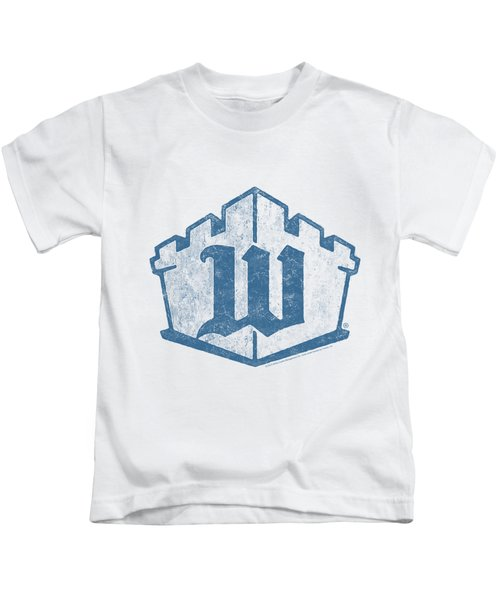 White Castle - Monogram Kids T-Shirt by Brand A