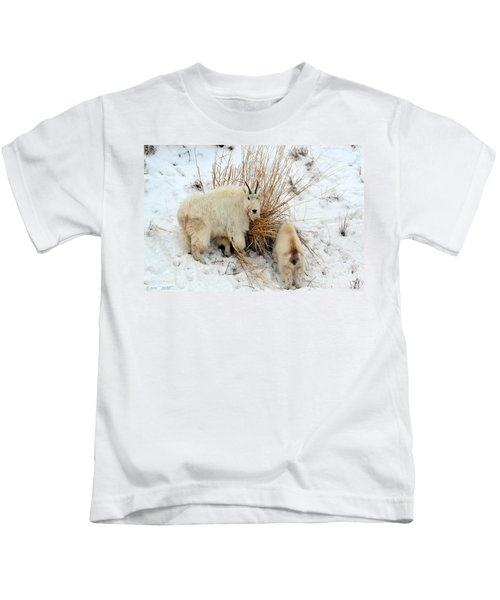 Why Are You Watching Me Kids T-Shirt