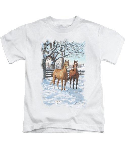 Wildlife - Coffee And Chocolate Kids T-Shirt