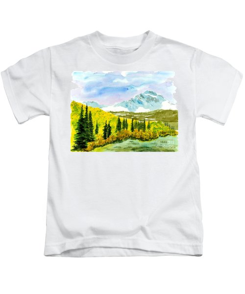 Willard Peak Kids T-Shirt