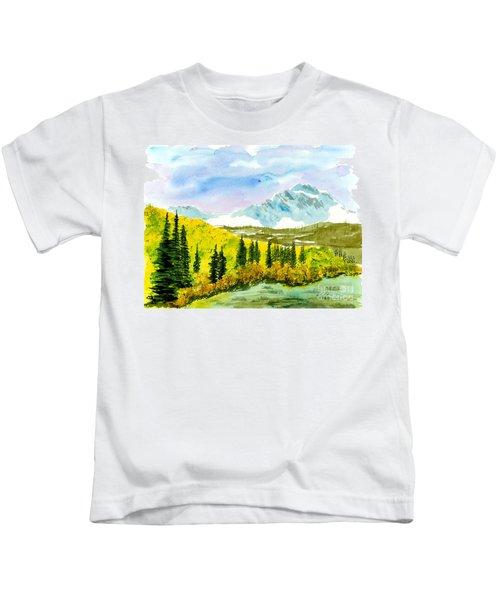 Willard Peak Kids T-Shirt
