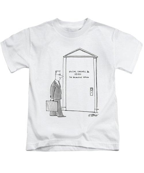 Willson, Carswell & Griggs The Balanchine Version Kids T-Shirt