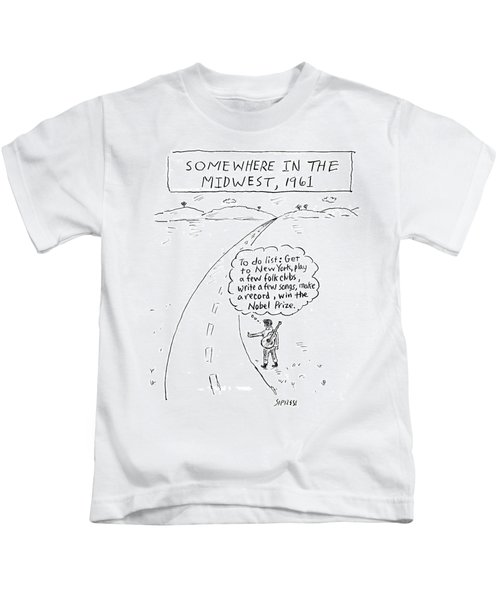 Win The Nobel Prize Kids T-Shirt
