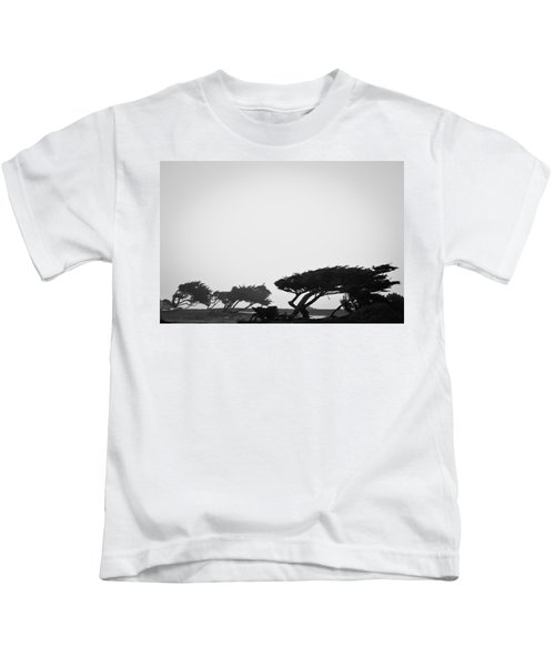 Windswept Shoreline Kids T-Shirt