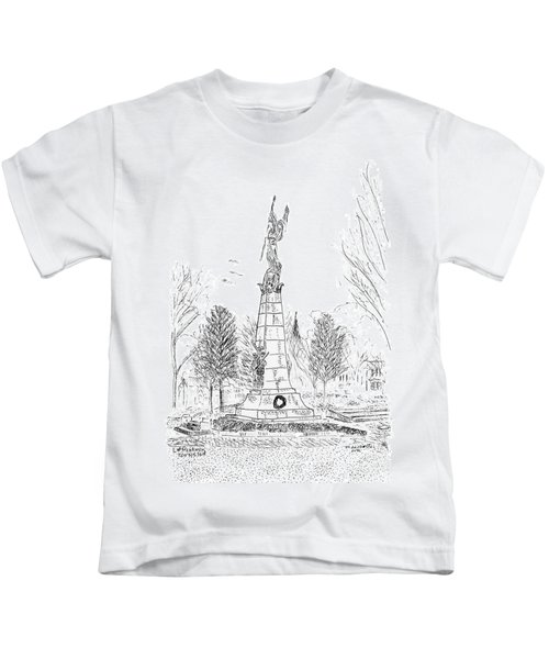 Winged Victory Kids T-Shirt