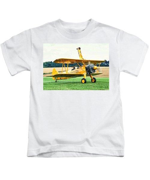 Wingwalking Kids T-Shirt