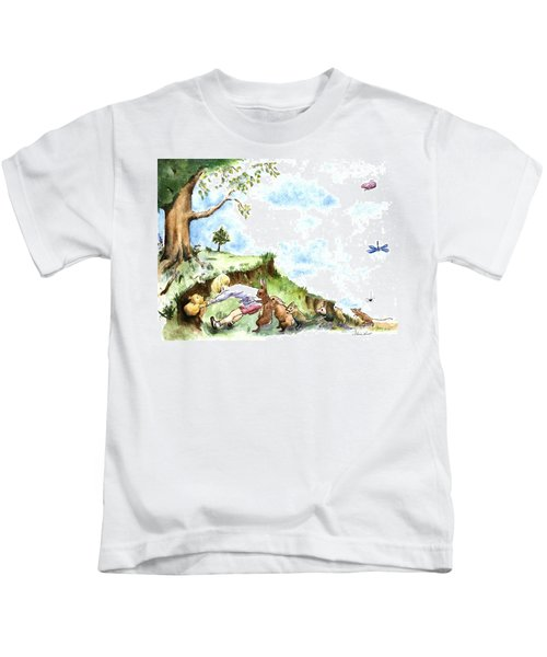 Helping Hands After E H Shepard Kids T-Shirt