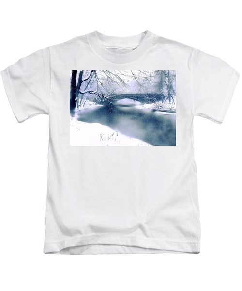 Winter Haiku Kids T-Shirt