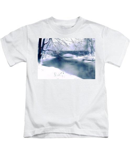 Winter Haiku Kids T-Shirt