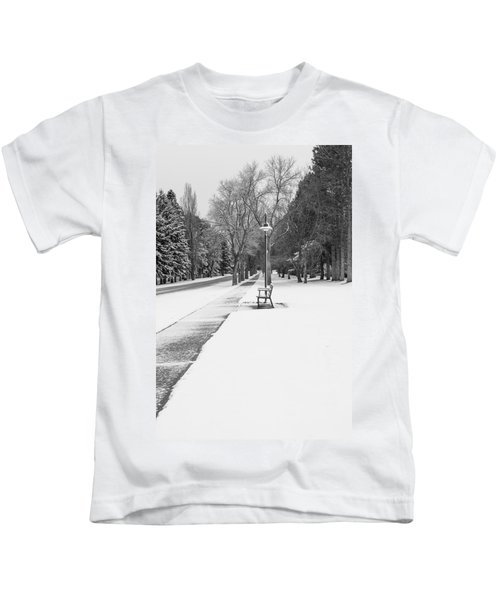 Winter Walk Kids T-Shirt